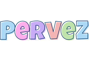 Pervez pastel logo