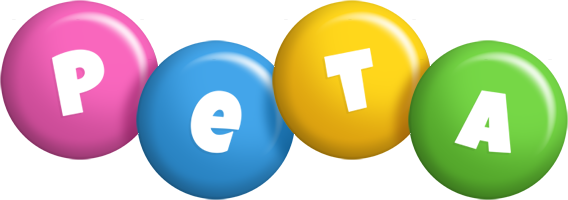 Peta candy logo