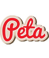 Peta chocolate logo