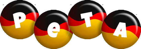 Peta german logo