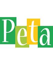 Peta lemonade logo