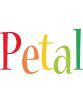 Petal birthday logo