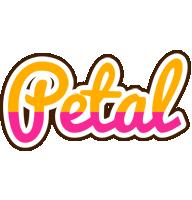 Petal smoothie logo