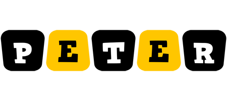 Peter boots logo