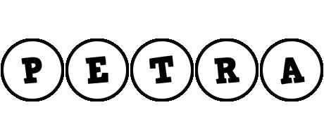 Petra handy logo
