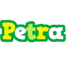 Petra soccer logo