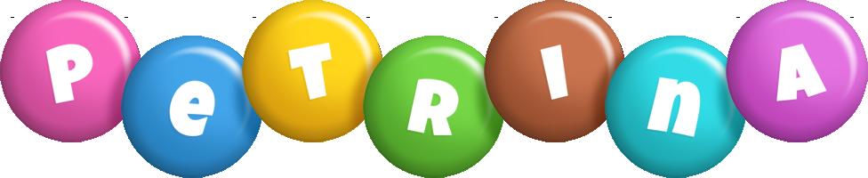 Petrina candy logo