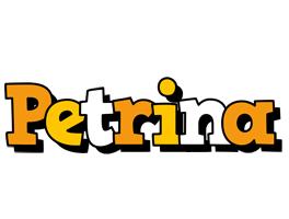 Petrina cartoon logo