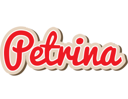 Petrina chocolate logo