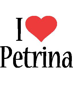 Petrina i-love logo