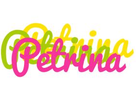 Petrina sweets logo