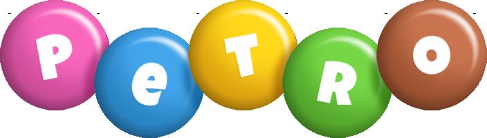 Petro candy logo