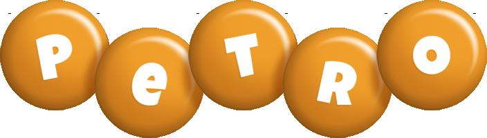 Petro candy-orange logo