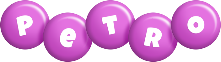Petro candy-purple logo