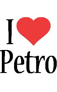 Petro i-love logo