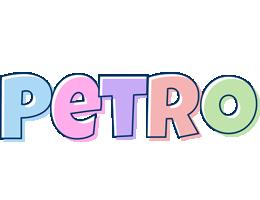 Petro pastel logo