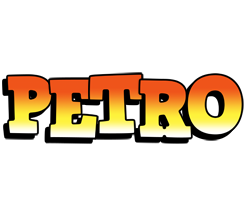 Petro sunset logo