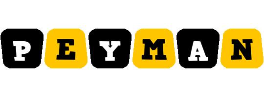 Peyman boots logo