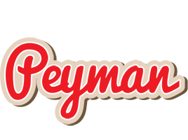 Peyman chocolate logo