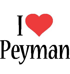 Peyman i-love logo