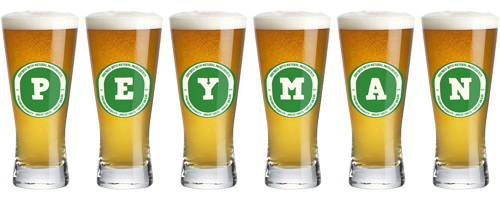 Peyman lager logo