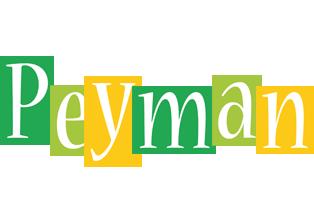 Peyman lemonade logo