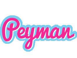Peyman popstar logo
