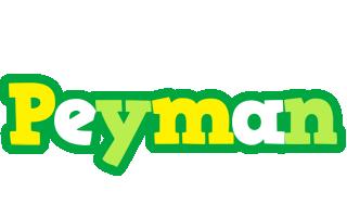 Peyman soccer logo