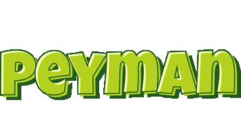Peyman summer logo