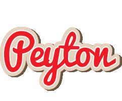 Peyton chocolate logo