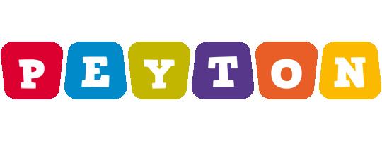 Peyton daycare logo