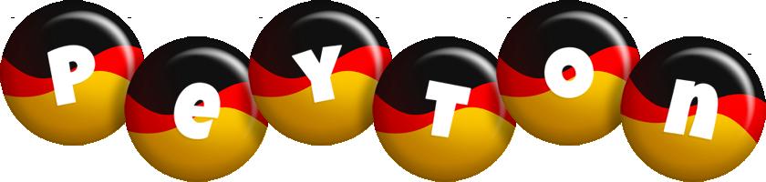 Peyton german logo