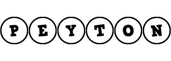 Peyton handy logo