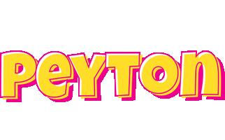 Peyton kaboom logo