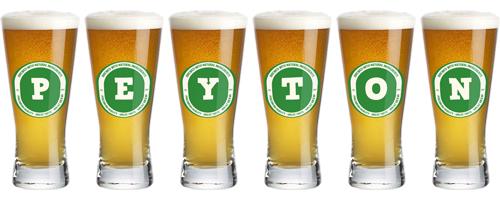 Peyton lager logo