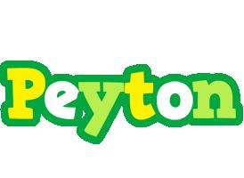 Peyton soccer logo