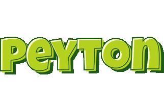 Peyton summer logo