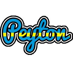 Peyton sweden logo
