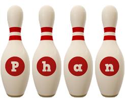 Phan bowling-pin logo