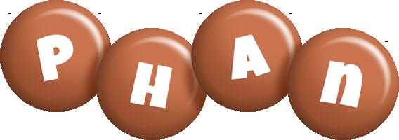 Phan candy-brown logo