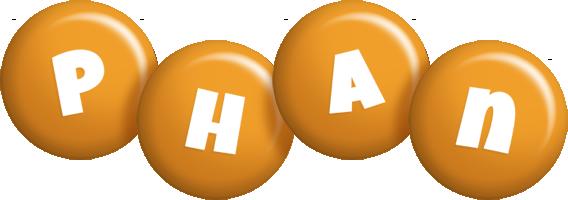 Phan candy-orange logo
