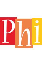 Phi colors logo