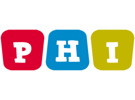 Phi kiddo logo
