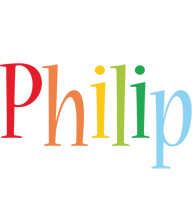Philip birthday logo