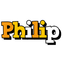 Philip cartoon logo