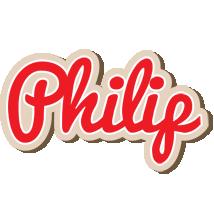 Philip chocolate logo