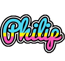 Philip circus logo
