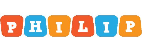Philip comics logo