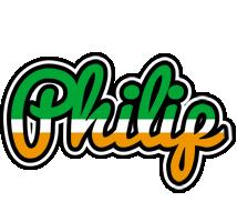 Philip ireland logo