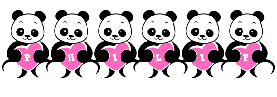 Philip love-panda logo